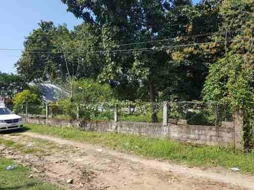 terreno en venta en barrancas, municipio de cosoleacaque, ver.