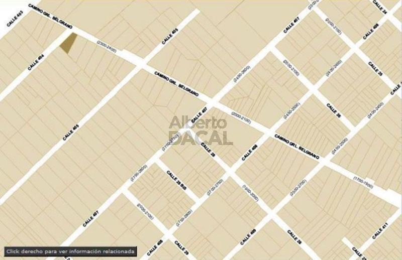 terreno en venta en belg esq. 404 villa elisa - alberto dacal propiedades