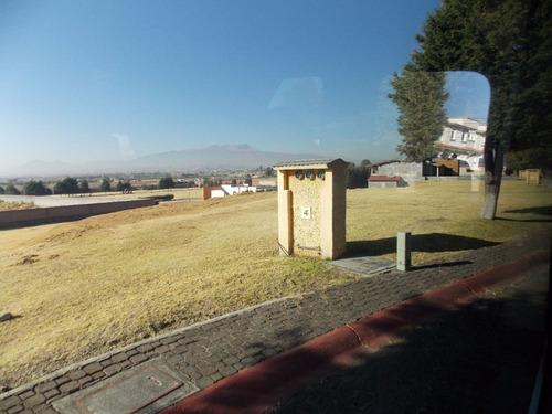 terreno en venta en campestre metepec residencial.