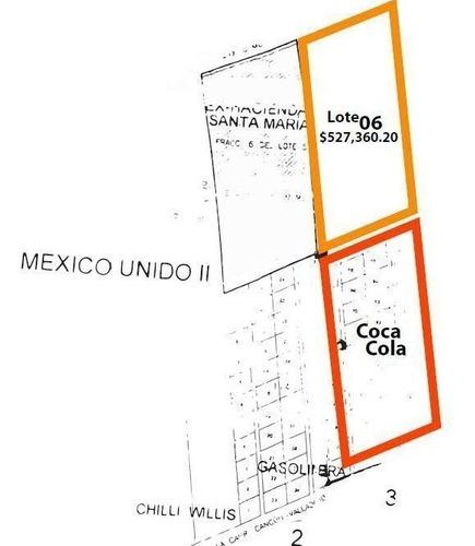 terreno  en venta en cancun atras de coca-cola.