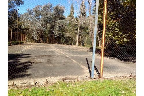 terreno en venta en cardales - cancha de tenis