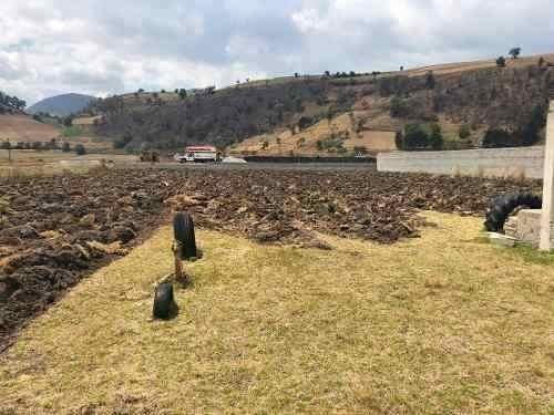 terreno en venta en carretera jajalpa-tenango del valle