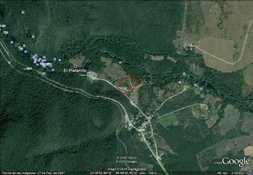 terreno en venta en cascada de micos   huasteca de san luis potosi