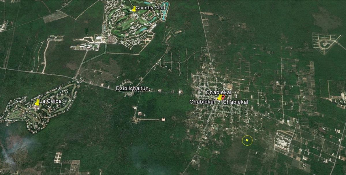 terreno en venta en  chablekal yucatán
