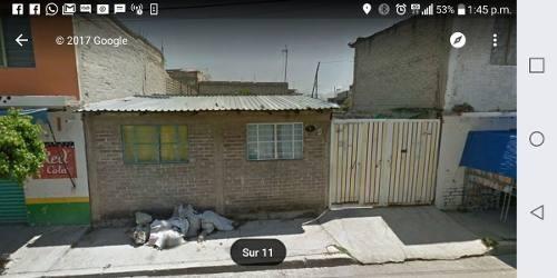 terreno en venta en chalco  ( calle sur )