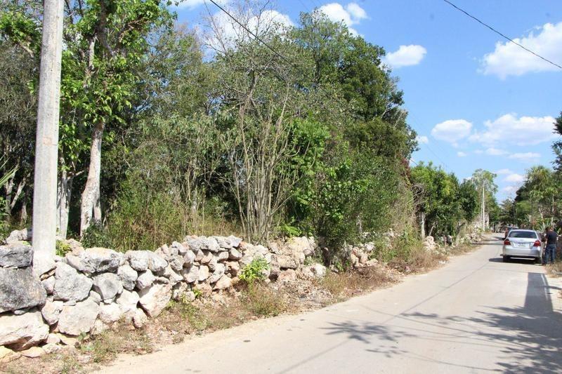 terreno en venta en chumayel, yucatan