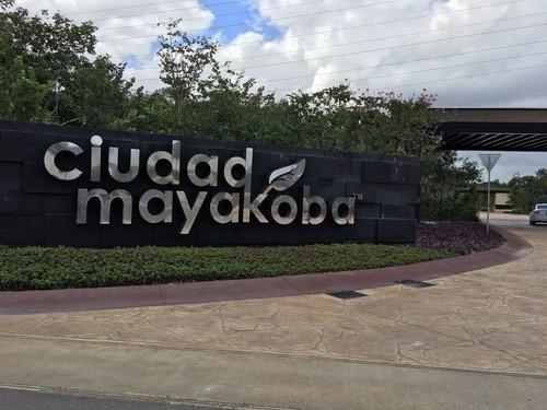 terreno en venta en ciudad mayakoba