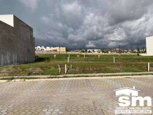 terreno en venta en clúster sinaloa, lomas de angelopolis lat-100f