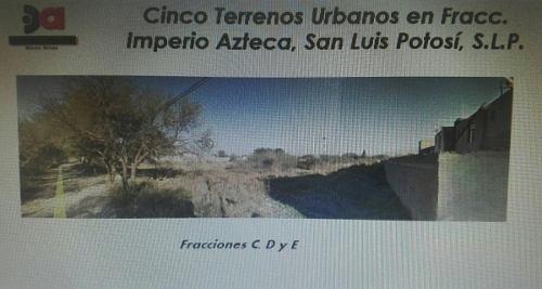 terreno en venta en colonia imperio azteca (soledad)