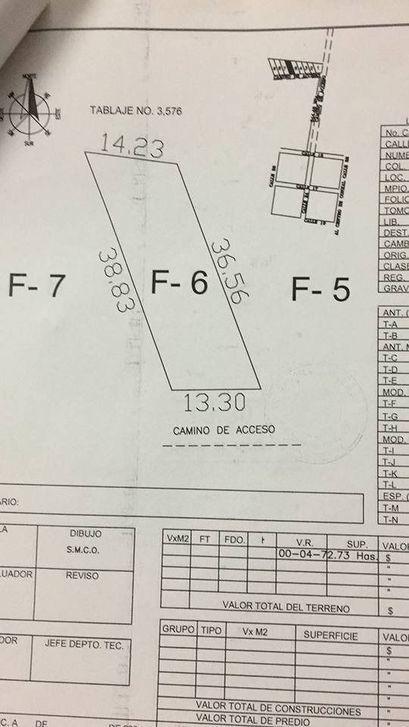 terreno en venta en conkal folio mtv-42