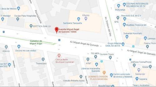 terreno en venta en coyoacán $110,500,000.00 pesos.