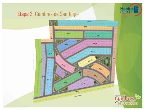 terreno en venta en cumbres  san miguel (san miguel de allende  guanajuato )