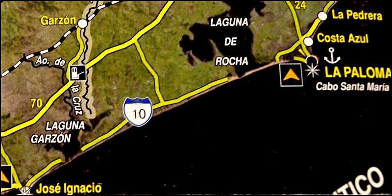 terreno en venta en el desarrollo las garzas en punta del este entre la ruta 10 y el mar