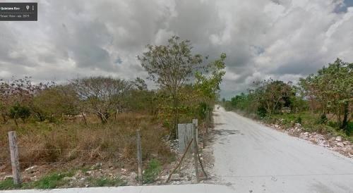 terreno en venta en el ejido rancho viejo isla mujeres
