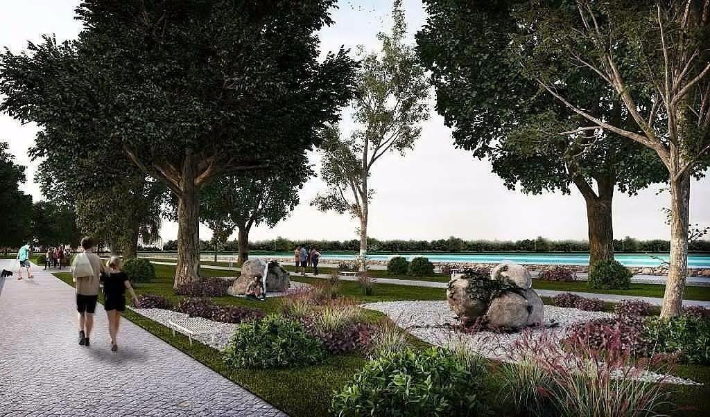 terreno en venta en el norte de mérida en privada con lago natural, yucatán