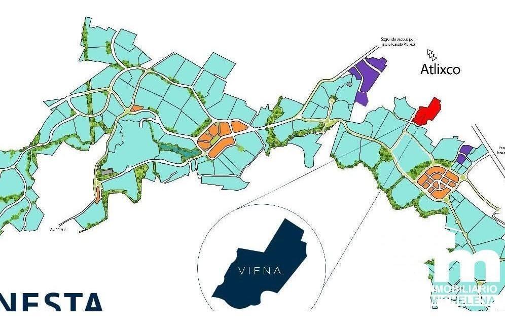 terreno en venta en el parque viena, lomas de angelópolis ii (st-2005a)