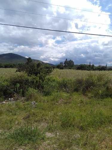 terreno en venta en el vegil de 1 hectárea , a pie de carretera a huimilpan.
