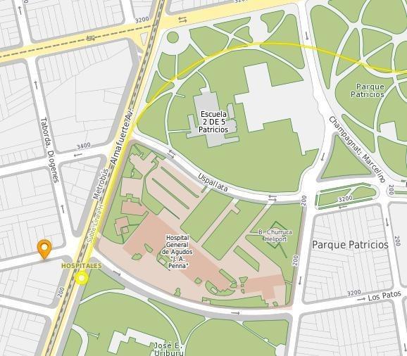 terreno en venta en esquina de parque patricios. planos aprobados.