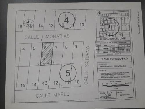 terreno en venta en fracc. alamos ii, cancun c2308