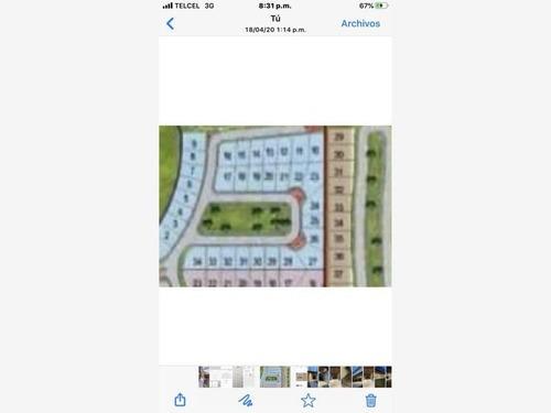 terreno en venta en fracc las villas