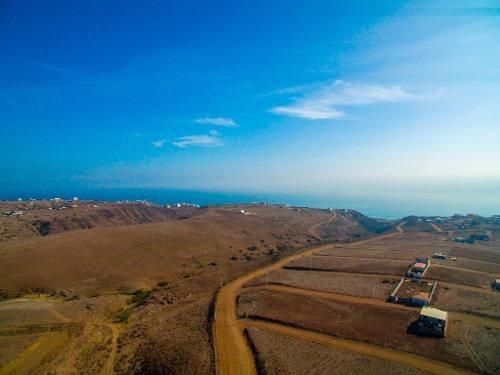 terreno en venta en fracc. mar de calafia , playas de rosarito, b.c.