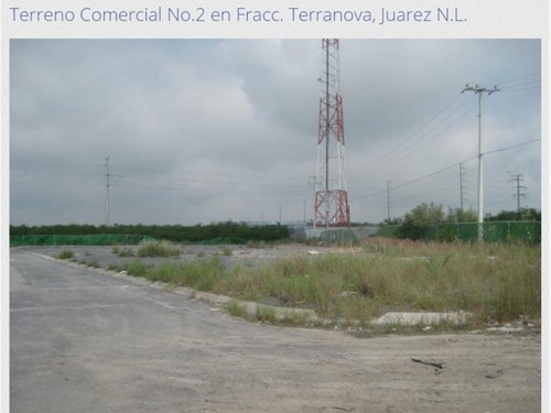 terreno en venta en fracc. terranova