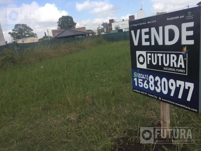 terreno en venta en funes city  escriturado - lote 669