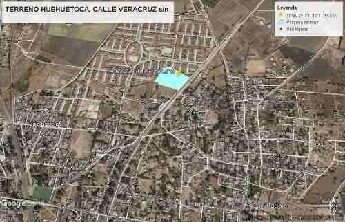 terreno en venta en huehuetoca ( calle veracruz )