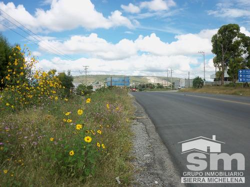 terreno en venta en la carretera federal puebla - tehuacan