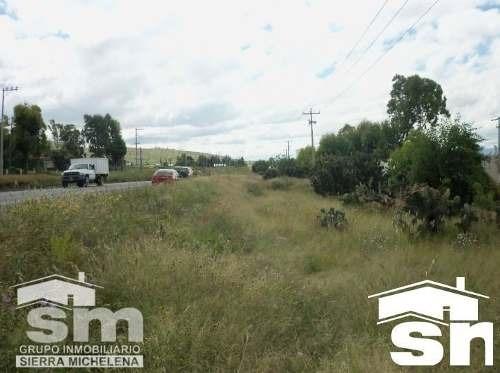 terreno en venta en la carretera federal puebla - tehuacan st-1421