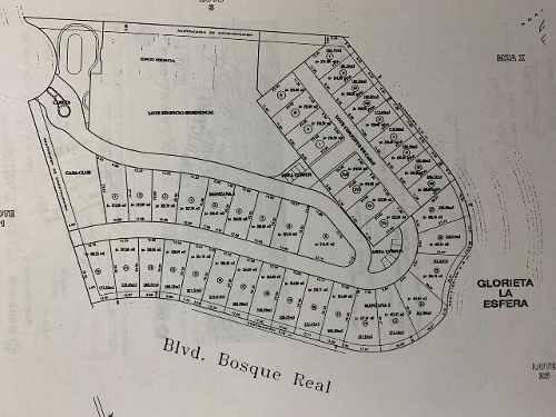 terreno en venta en la cuspide, bosque real country club  ( 456668 )