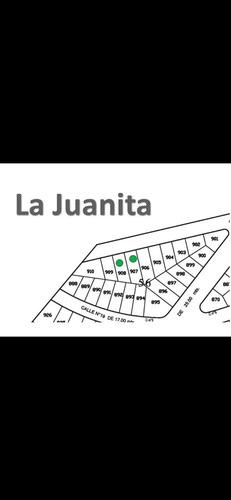 terreno en venta en la juanita