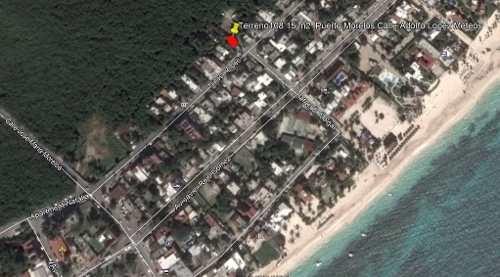 terreno en venta en la zona hotelera de puerto morelos c2698