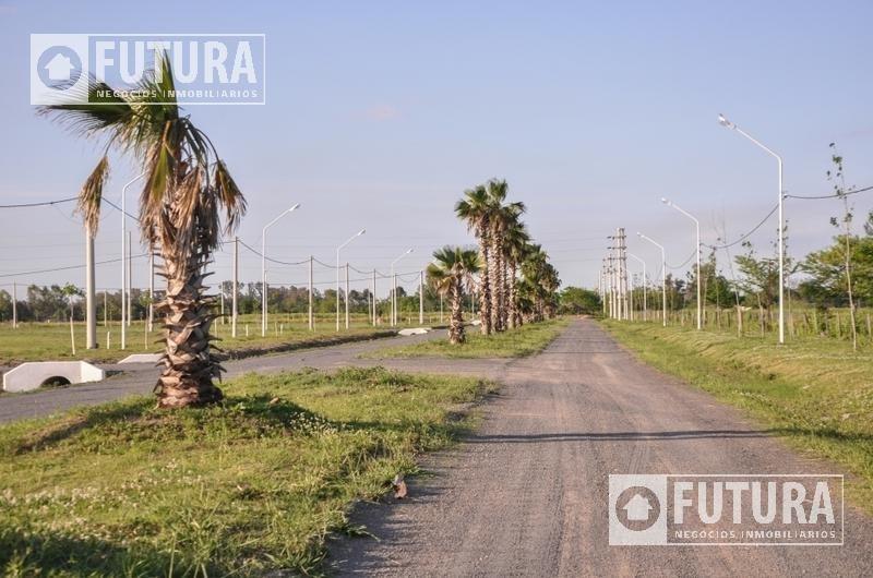 terreno en venta en las campiñas de piñero lote 672 m24 (sobre avenida)