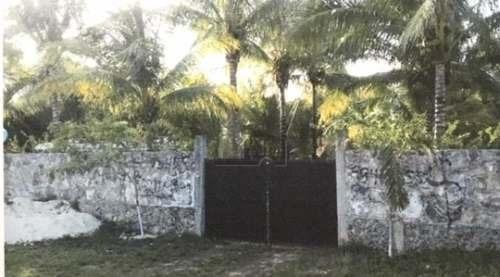 terreno en venta en leona vicario tramo cancún - mérida km 370, superficie 2,505 m2