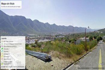 terreno en venta en lomas de valle alto, monterrey
