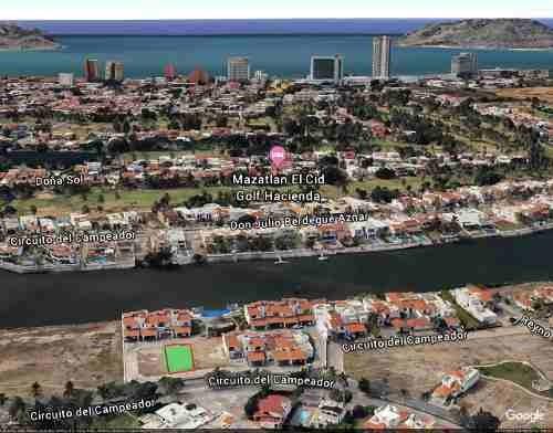 terreno en venta  en marina el cid mazatlan