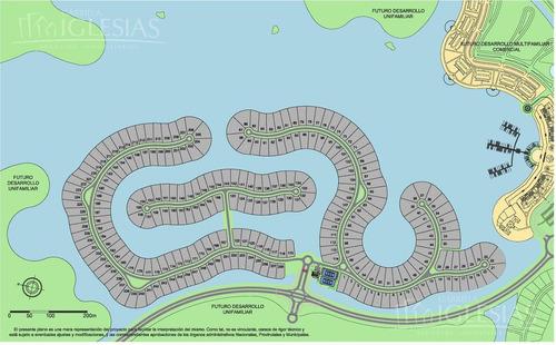 terreno en venta en marinas, puertos del lago