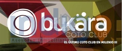 terreno en venta en milenio iii (bukara coto club)