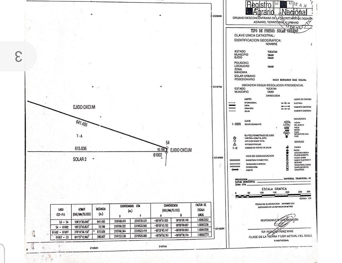 terreno en venta en oxcum yucatan folio mtv-208