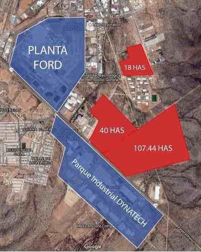 terreno en venta en parque industrial