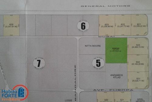 terreno en venta en parque industrial argo (zona industrial)
