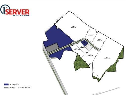 terreno en venta en parque industrial  (km178.5 cerro gordo, zaragoza s.l.p)