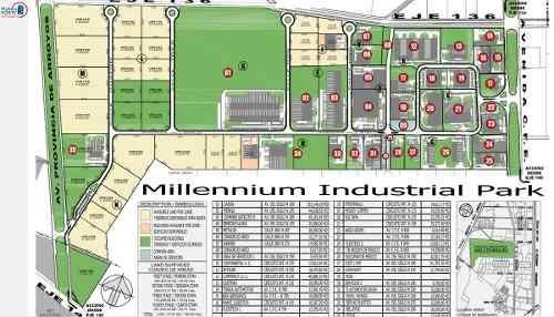 terreno en venta en parque industrial millennium (zona industrial)