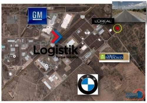 terreno en venta en parque logistik (zona industrial)