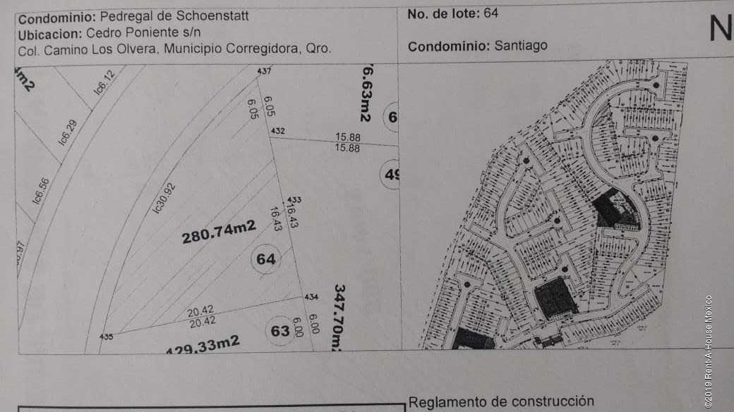 terreno en venta en pedregal de schoenstatt, corregidora, rah-mx-20-143