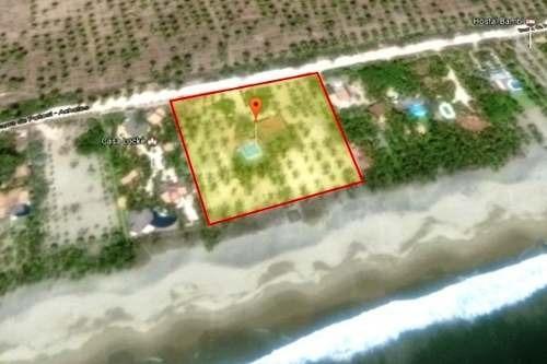 terreno en venta en playa blanca, guerrero