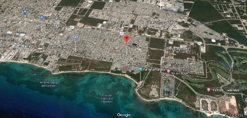 terreno en venta en playa del carmen colosio