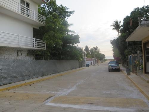 terreno en venta en playa tamarindos, puerto escondido, oaxaca.