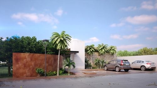 terreno en venta en privada, temozón norte. tv-5869